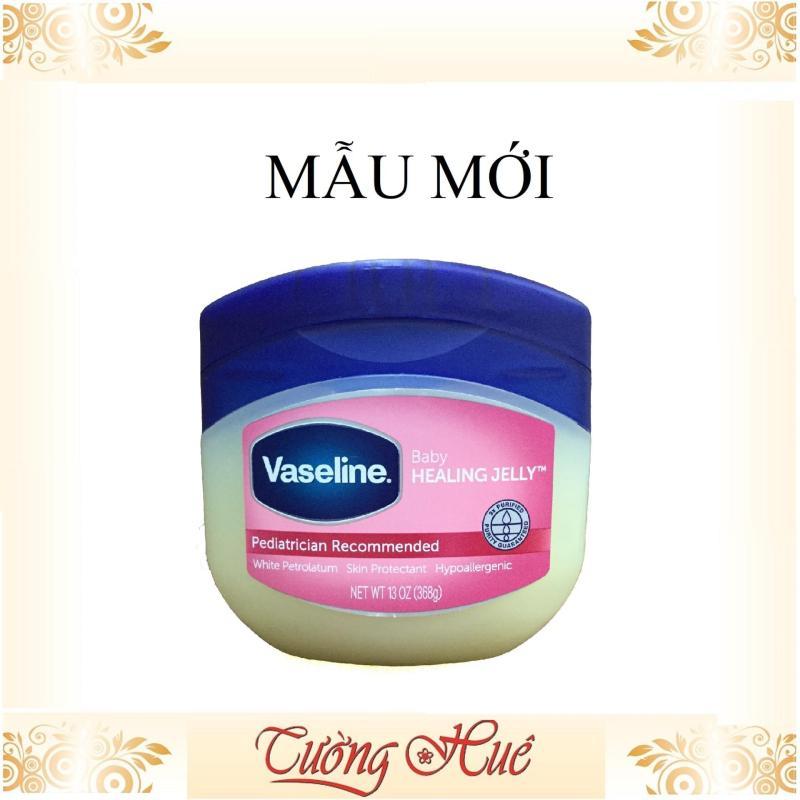 Hũ Vaseline Baby Dành Cho Trẻ Em 100% Pure Petroleum Jelly 368g ( Hồng ) giá rẻ