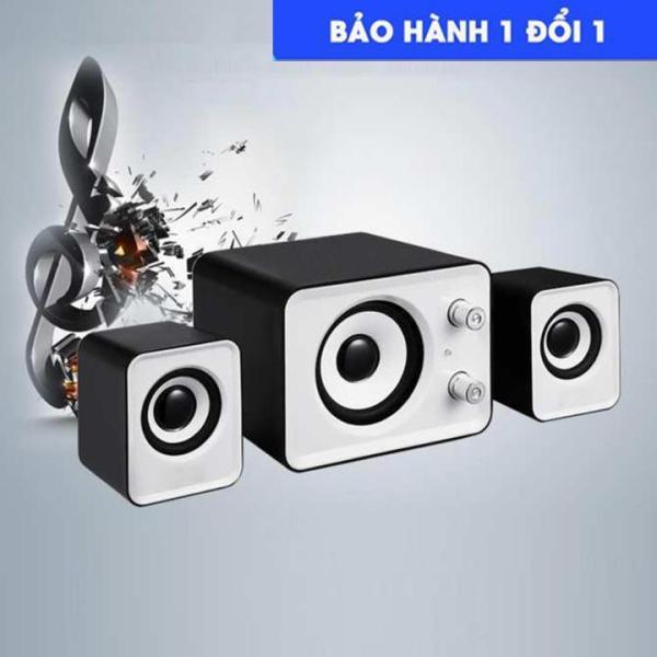 Bảng giá Bộ 3 Loa Máy Tính Cao Cấp 2.1 - Âm Bass Echo Hay - Nhỏ Gọn - loa vi tính - loa máy cây - loa laptop Phong Vũ