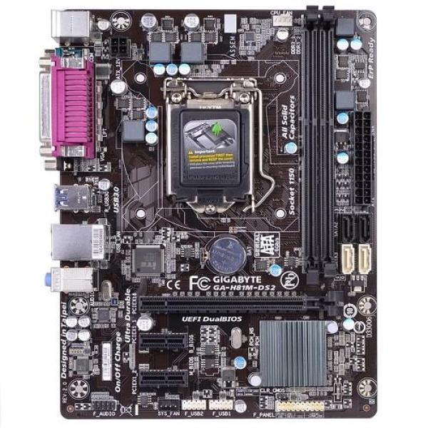 Main Gigabyte H81M-DS2 Socket 1150