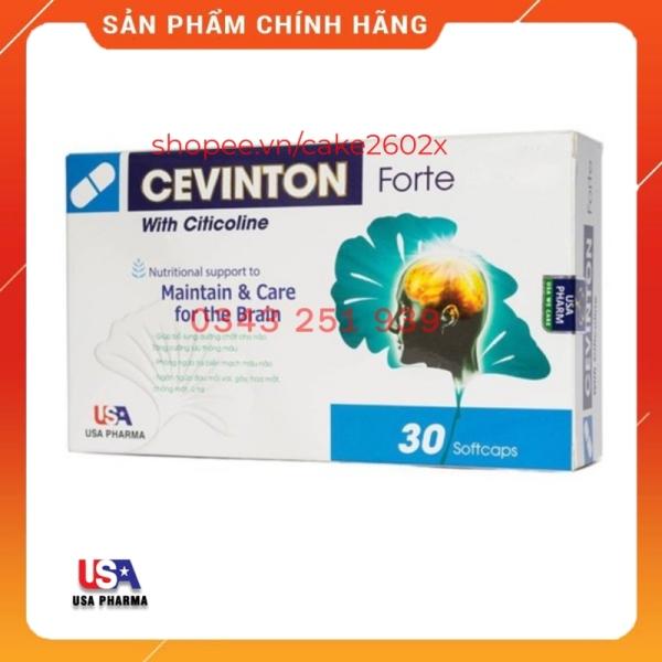 Cevinton Forte - Hoạt Huyết Dưỡng Não, Thực Phẩm Bảo Vệ Sức Khỏe
