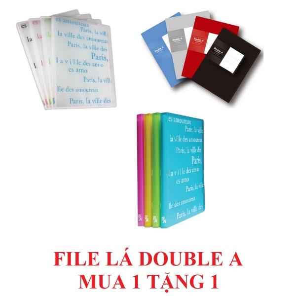 Mua [Mua 1 tặng 1] File 20 lá Double A