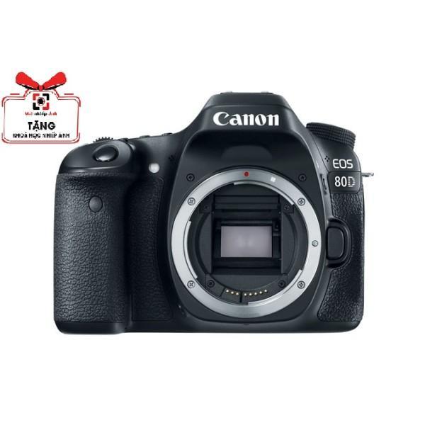 Máy Ảnh Canon EOS 80D ( Body) - Hàng Canon Lê bảo Minh - Tặng Túi, thẻ 16G, Khóa học Nhiếp ảnh, Dán màn hình