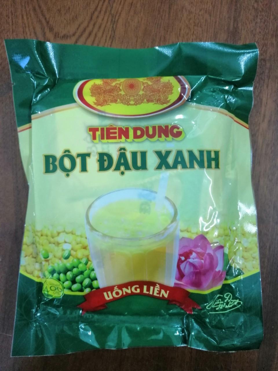 Bột đậu xanh uống liền Tiên Dung 400g Date 7/2021