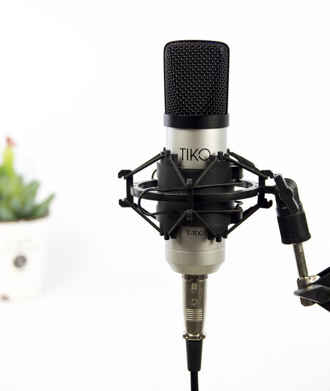 Mic thu âm TIKO T-100