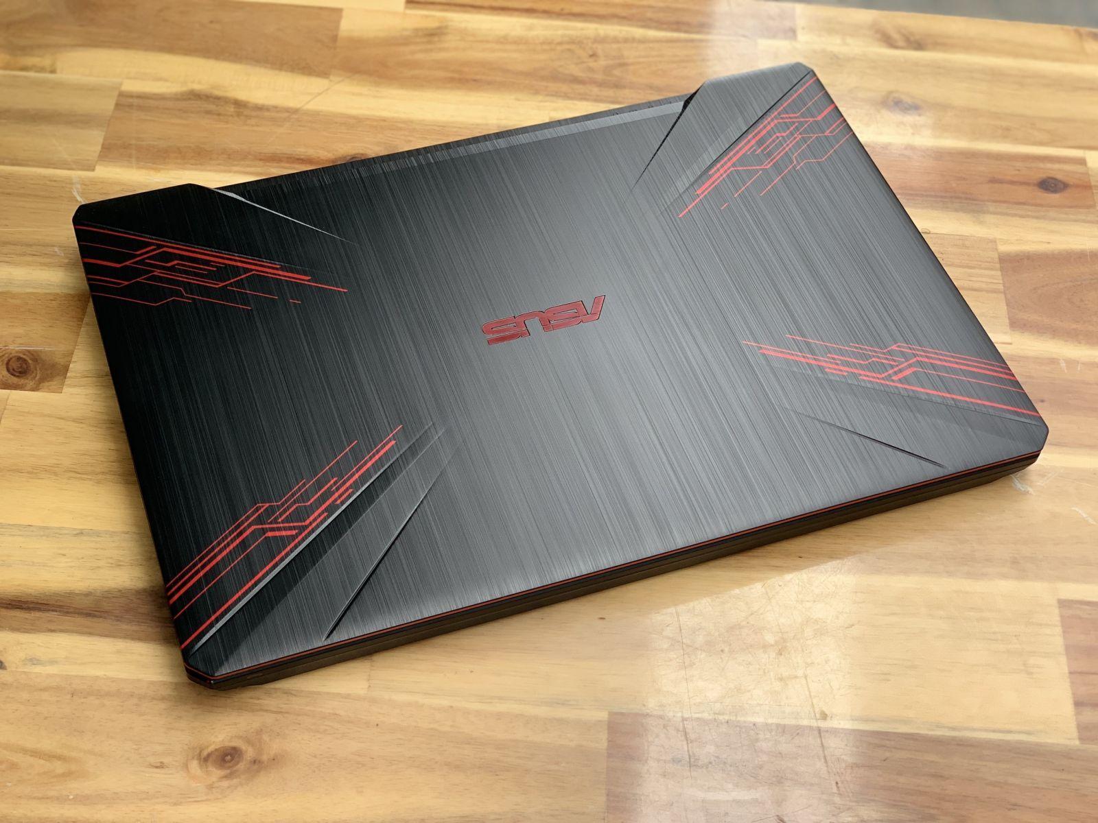 Mã Khuyến Mại tại Lazada cho Laptop Asus TUF FX504GE , I7 8750H 8G SSD128/1THDD GTX1050Ti Full HD Còn BH 10/2020 Giá Rẻ