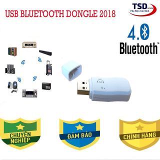 USB bluetooth 4.0 Dongle - USB biến loa thường thành loa bluetooth dongle v4.0 thumbnail