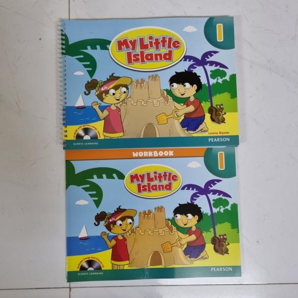 Bộ My Little Island 1 khổ to cho bé ( bộ 2 cuốn tặng kèm file nghe mp3)