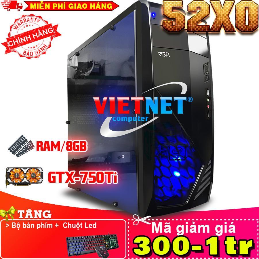 Máy Tính Chơi Game Vngame 52x0 I5 2400 Gtx750ti 8gb 250gb (chuyên Lol, Gta 5, Fifa, Battelground, Overwatch) By Vietnet Computer.