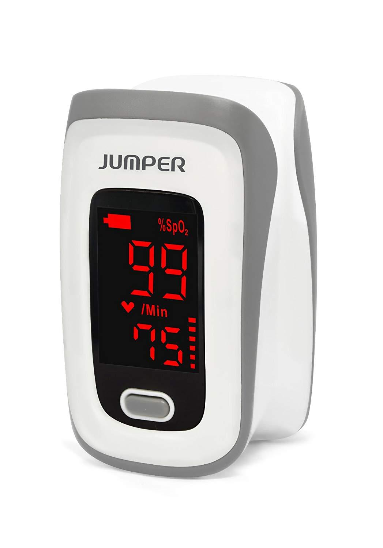 Offer Khuyến Mại Máy đo Nồng độ Oxy Trong Máu SpO2 Và Nhịp Tim Jumper Medical JPD-500E