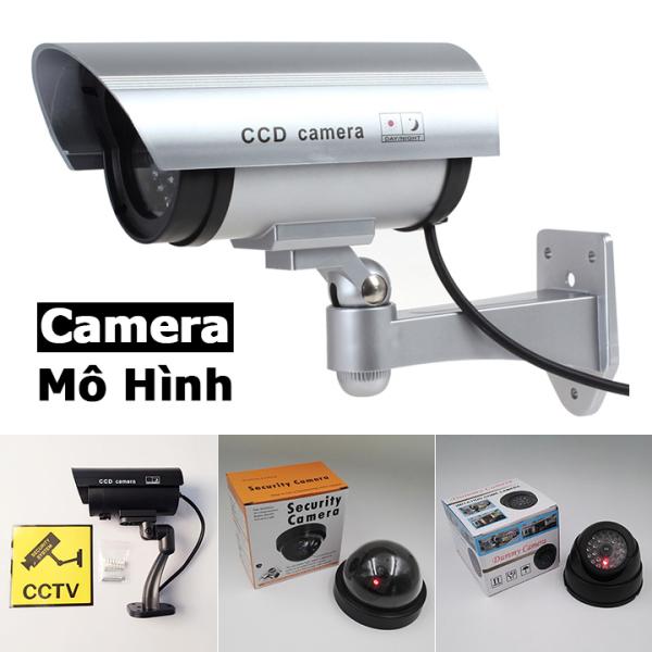 Camera mô hình chống trộm camere giả mô phỏng có đèn báo