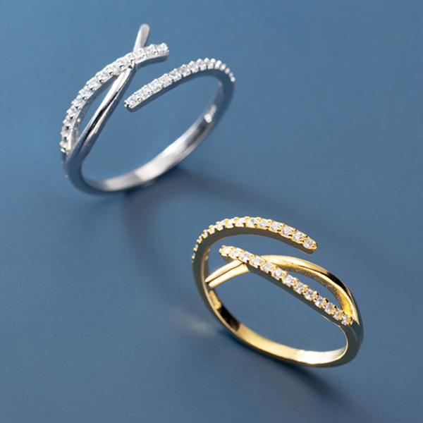 Nhẫn Bạc Nữ Đính Đá Sáng | Nhẫn Bạc ITALY S925 Cao Cấp N2483 Bảo Ngọc Jewelry