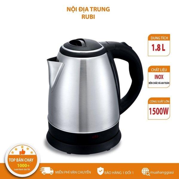 [HÀNG TỐT] bình đun nước siêu tốc mini - ấm đun nước siêu tốc giá rẻ - ấm đun nước inox - bình đun nước nóng