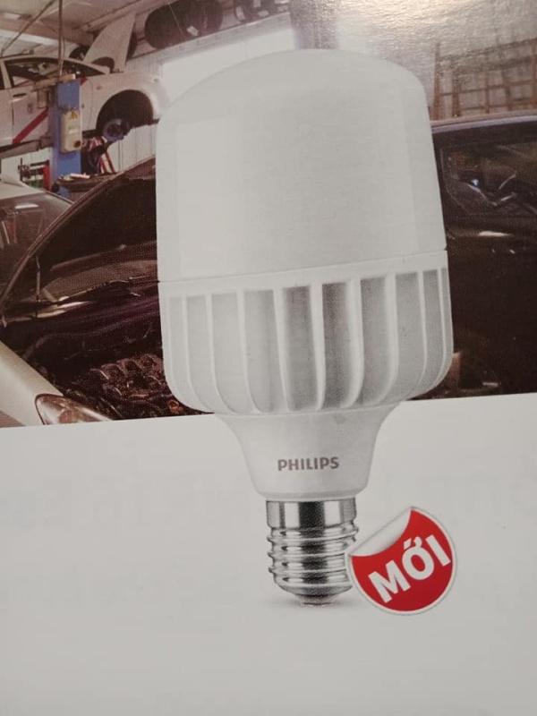 Đèn led Bulb Trụ công suất cao Tfore Core  30W E27 trắng, vàng  Philips