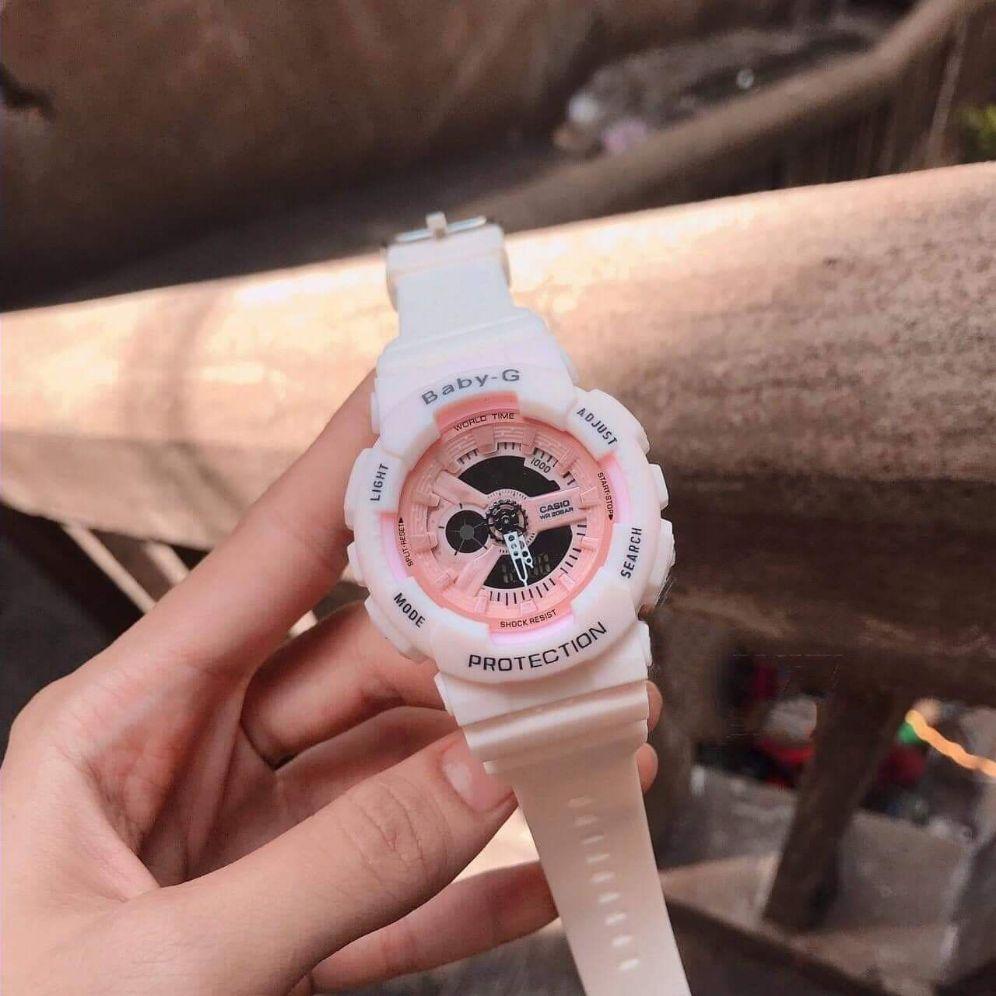 Đồng Hồ Thể Thao Baby-G Size 38mm Màu Hồng Cho Nữ Có Giá Tốt