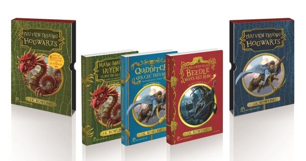 Mua Fahasa - Harry Potter Ngoại Truyện (Boxset 3 Cuốn)