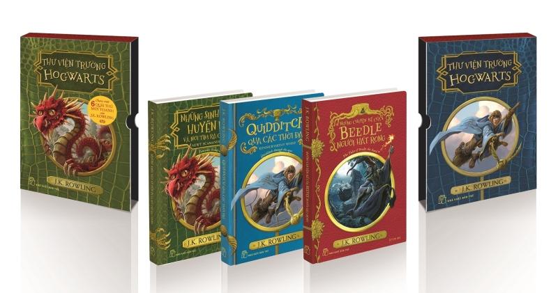 Fahasa - Harry Potter Ngoại Truyện (Boxset 3 Cuốn)