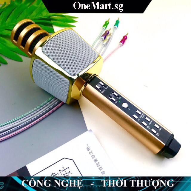 #XẢ KHO 3 NGÀY# Mic Hát Karaoke Hay Nhat 2019, Micro Hát Karaoke Bluetooth SD-17, Mic Kiêm Loa, Âm Vang Ấm- Mic Hát Karaoke Cầm Tay Mini Micro Hát Trên Xe Hơi, Mic Không Dây Thế Hệ Mới, Tiện Dụng, Hát Mọi Lúc Mọi Nơi.