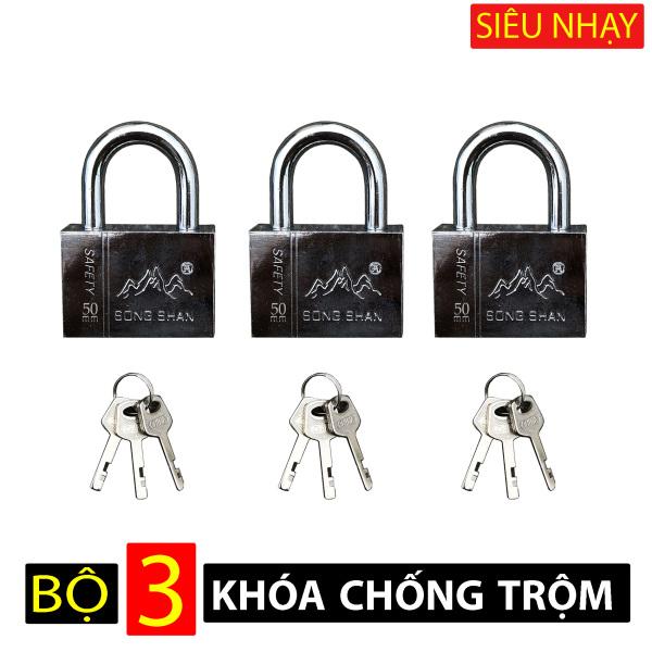 Bộ 3 ổ khóa chống trộm SIÊU NHẠY - khóa cửa