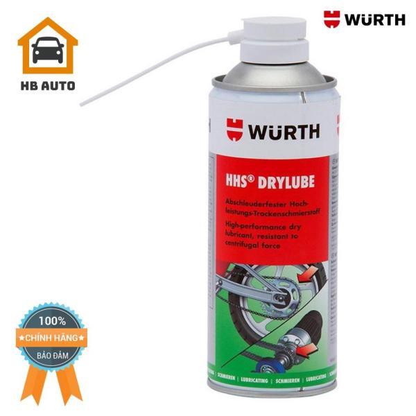 Mỡ Bò Khô Wurth Hhs Drylube (400ml) 08931066