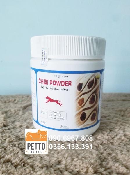 [HCM]Khoáng chất và vitamin tổng hợp bổ sung hàng ngày cho chó Chibi Powder 400g