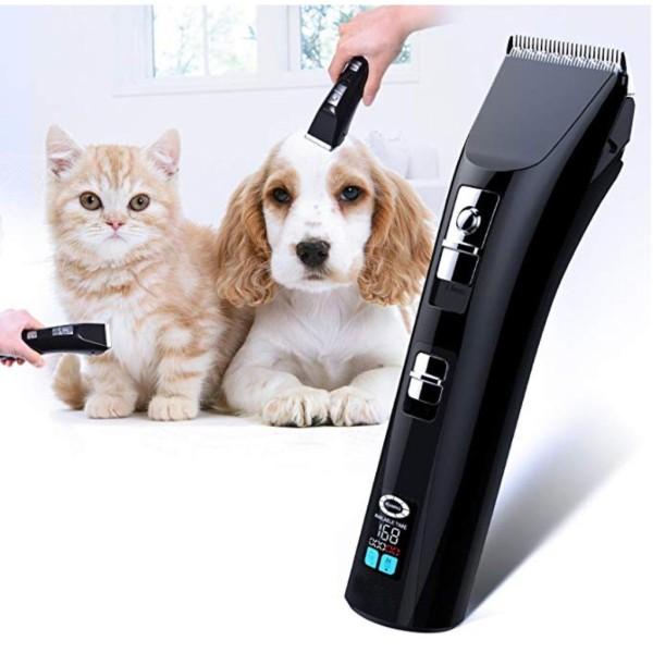 Tông đơ, Tông đơ cho chó dòng cao cấp Hair Clipper pin sử dụng 4 tiếng Mooki Pet