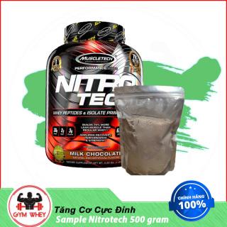 Gói Dùng Thử Sữa Bột Dinh Dưỡng Tăng Cơ Nitrotech Whey 500gram thumbnail