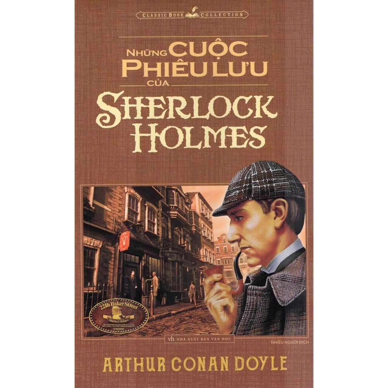 Sách Hay - Văn Học - Những Cuộc Phiêu Lưu Của Sherlock Holmes Giá Tốt Không Nên Bỏ Lỡ