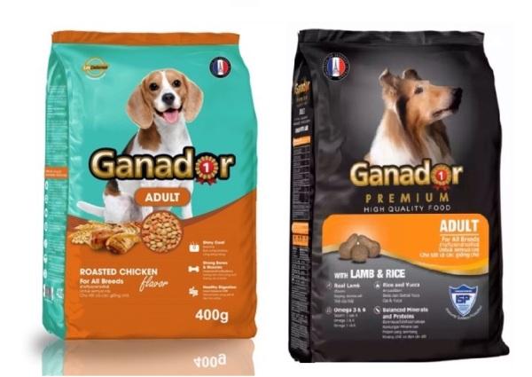 HCM-(Combo 2 gói 400gr) Thức ăn  dạng hạt GANADOR ADULT (dành cho chó trên 1 năm tuổi) (hanpet 209)-HP10294TC