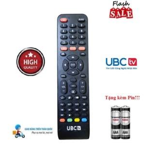 Remote Điều khiển tivi UBC các dòng LED LCD Smart TV- Hàng loại tốt Tặng kèm Pin-Điện tử Alex thumbnail
