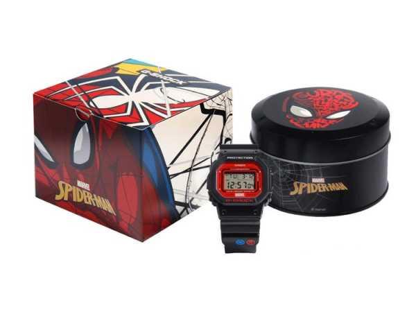Nơi bán Đồng Hồ Casio Spider Man - Đồng Hồ Nam Chống Nước Chống Va Đập