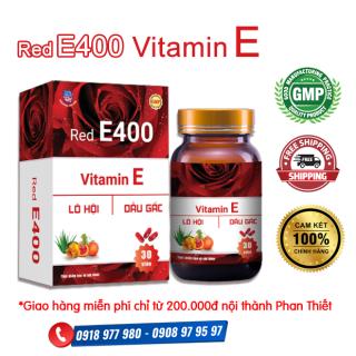 Red E400 - Vitamin E đỏ - Bổ sung Vitamin E, các chất chống oxy hóa. Chống oxy hóa, hạn chế lão hóa da, làm đẹp da. thumbnail