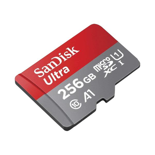 Thẻ nhớ MicroSDXC SanDisk Ultra A1 256GB 100MB/s SDSQUAR-256G-GN6MN