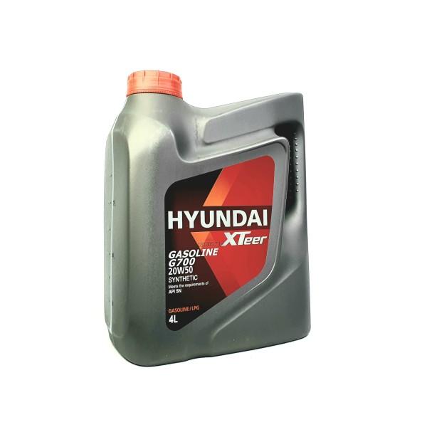 Nhớt ô tô HYUNDAI XTEER GASOLINE G700 20W50 SN 4L
