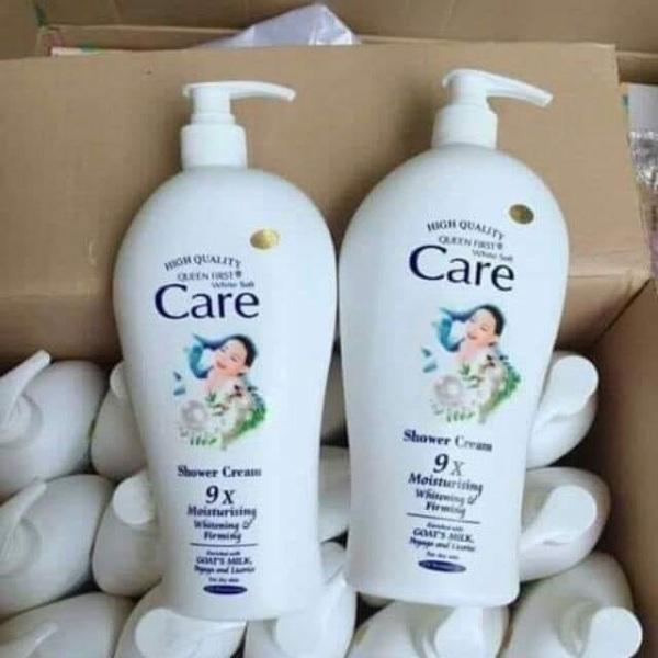[ Combo 2 chai ] Sữa Tắm Dê White Care Cao Cấp Chai Khổng Lồ 1200ml x 2 chai, HSD đến tháng 10-2022
