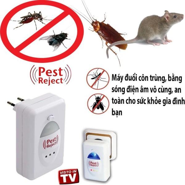 Máy đuổi muỗi, chuột, dán Pest Reject-USA Thiết Bị Bảo Vệ An Toàn Cho Gia Đình Bạn - BẢO HÀNH 12 THÁNG