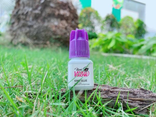 Keo Nối Mi Siêu Bền Không Cay King Glue 2 Êm Dịu Không Gây Dựng Dị Ứng Nhập Khẩu Hàn Quốc