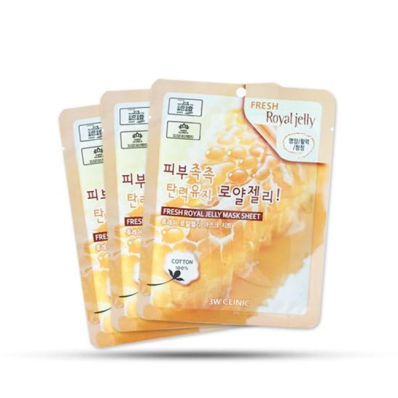 [Giá Hủy Diệt] Combo 10 miếng mặt nạ dưỡng da chiết xuất sữa ong chúa Hàn Quốc nhập khẩu