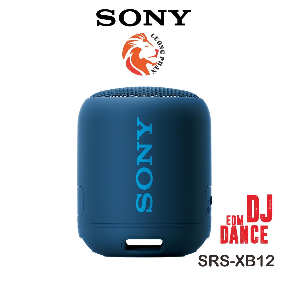 Loa bluetooth Sony SRS-XB12 - Hãng phân phối chính thức, sản phẩm được bảo hành 12 tháng ( bảo hành điện tử)