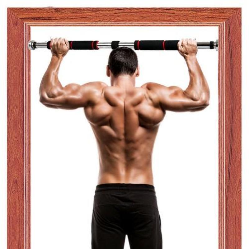 Xà đơn treo tường, xà đơn gắn cửa treo tường đa năng 60-100cm loại dày,chất lượng tốt