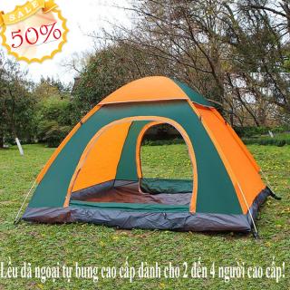 Lều phượt du lịch, Lều cắm trại, lều tự bung cho 2 người, chống thấm nước, chống muỗi, dễ dàng gấp gọn tiện lợi, BH 1 đổi 1 thumbnail