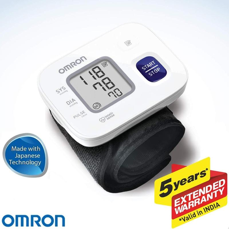 Máy đo huyết áp cổ tay OMRON HEM 6161 Mới nhập khẩu