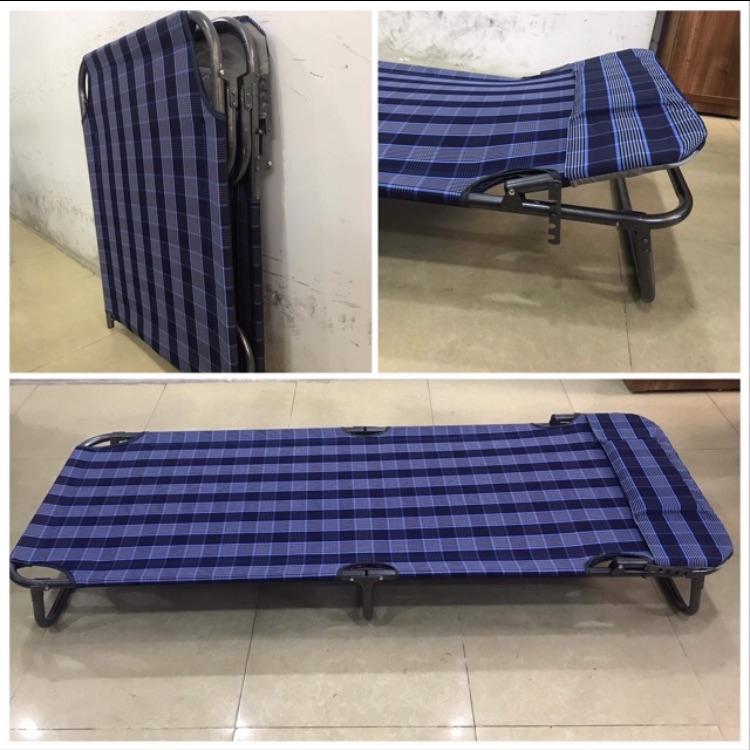 Giường Gấp Vải Bạt Giá Ưu Đãi Nhất