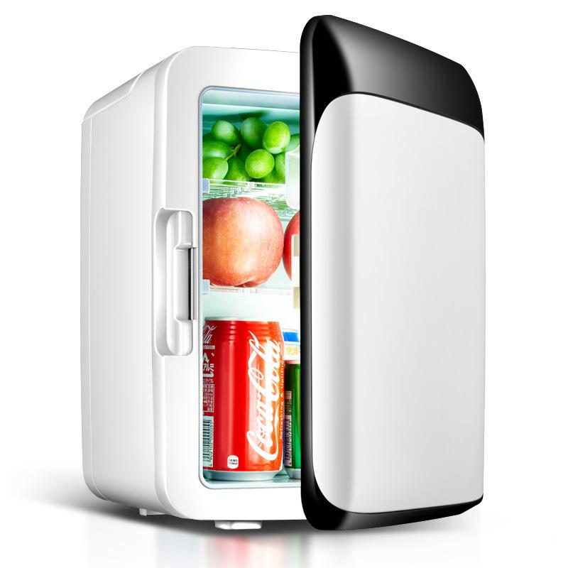 Tủ lạnh mini 2 chế độ nóng lạnh 10 lít, sử dụng trong gia đình và trên tô tô - Tủ lạnh, tủ mát mini Xe hơi Pldcar (Cắm được cả trong nhà hoặc oto)Cao cấp . BH UY TÍN 1 ĐỔI 1