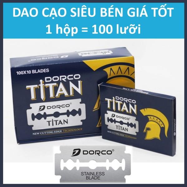 Hộp lưỡi lam Dorco Titan (100 lưỡi/hộp) giá rẻ
