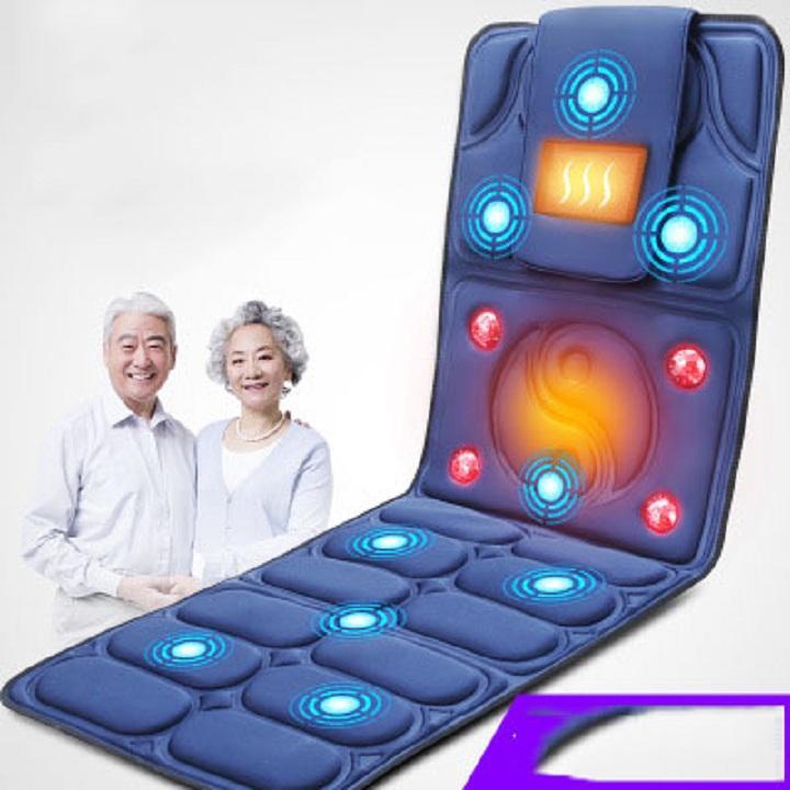 Nệm massage toàn thân có hồng ngoại lưu thông khí huyết , nệm massage toàn thân cho người gìa ,đệm massage , massage toàn thân , máy massage toàn thân nhập khẩu