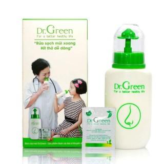 Bình rửa mũi dr green van nhựa 240ml + 10 gói muối biển nha đam - bình nhựa + 10 muối, cam kết sản phẩm đúng mô tả, chất lượng đảm bảo an toàn đến sức khỏe người sử dụng thumbnail