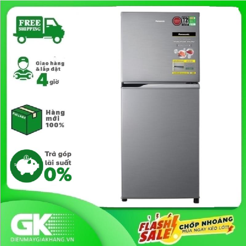 [Nhập ELMAY21 giảm 10% tối đa 200k đơn từ 99k]TRẢ GÓP 0% - Tủ lạnh Panasonic Inverter 234 lít NR-BL26AVPVN