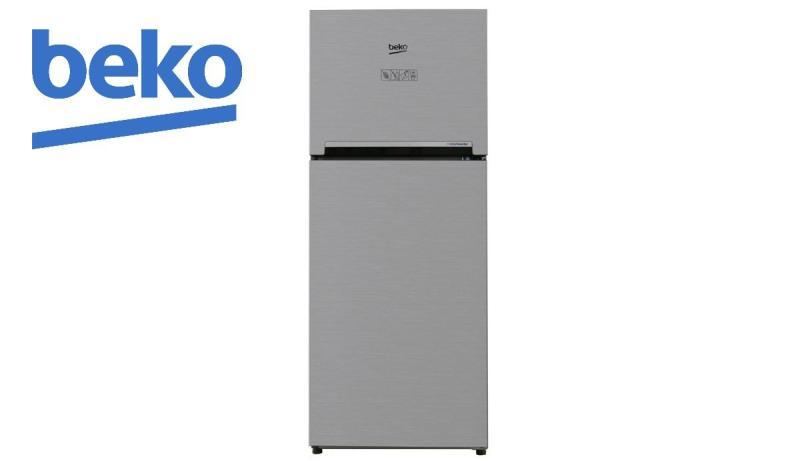 Tủ lạnh Beko Inverter 188 lít RDNT200I50VS màu bạc