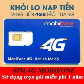 SIM 4G Mobifone Trọn Gói Không Cần Nạp Tiền lướt web thagaF thumbnail