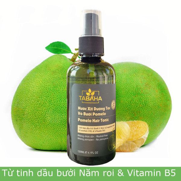 Tinh dầu bưởi giảm rụng tóc kích thích mọc tóc con từ thiên nhiên Tabaha 120ml cao cấp